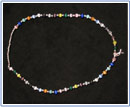Beaded Necklace by June Barrett for Cancer Research fundraising